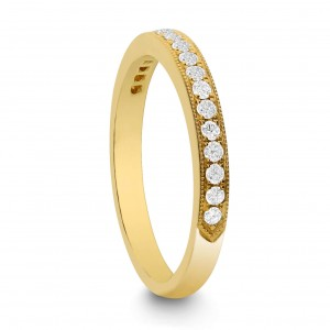 18KT 0.25 CT Diamond Band