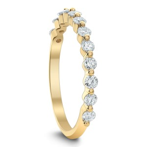 18KT 0.45 CT Diamond Band