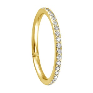 18KT 0.35 CT Diamond Band