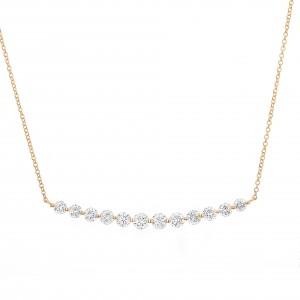 18KT 1.00 CT Diamond Necklace