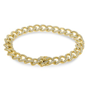 18KT 3.08 CT Diamond Multi-Link Bracelet
