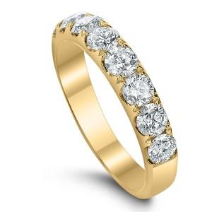 18KT 1.25 CT Diamond Band